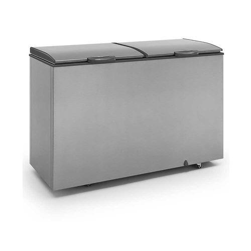 Tudo sobre 'Freezer Horizontal GHBS510TI Gelopar Freezer Tipo Inox 2 Tampas 532 Litros 110V'