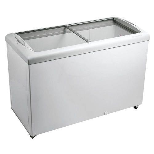 Freezer Horizontal Hf-40s 331 Litros com Tampa de Vidro Branco Metalfrio 110v