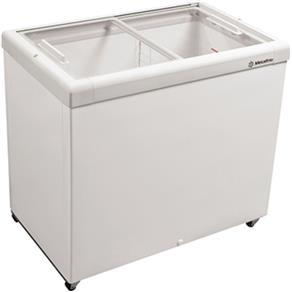 Freezer Horizontal 232L HF30S C/ Tampa de Vidro Branco - Metalfrio - 110V