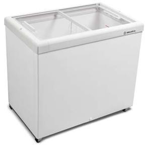 Freezer Horizontal Tampa de Vidro para Sorvetes e Congelados 303 Litros HF30S – Metalfrio - 110v