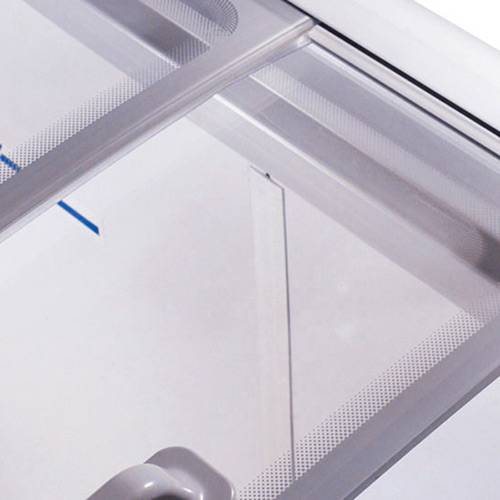 Freezer Horizontal Metalfrio HF20S para Sorvetes e Congelados com 2 Tampas de Vidro 213 Litros - Branco