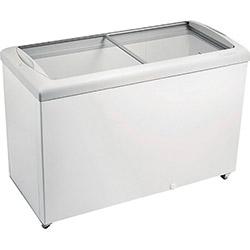 Freezer Horizontal Metalfrio HF40S para Sorvetes e Congelados com 2 Tampas de Vidro 433 Litros - Branco