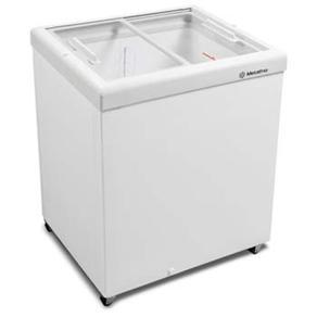 Freezer Horizontal Tampa de Vidro para Sorvetes e Congelados 213 Litros HF20S – Metalfrio - 110v