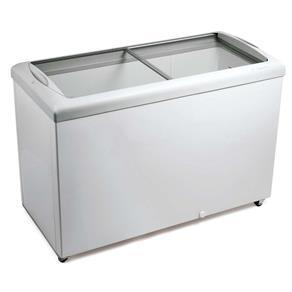 Freezer Horizontal Tampa de Vidro para Sorvetes e Congelados 433 Litros HF40S – Metalfrio - 220v