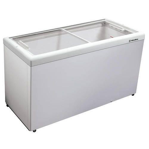 Freezer Horizontal Tampa de Vidro para Sorvetes e Congelados 439 Litros Hf55l 110v - Metalfrio