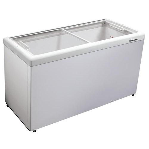Freezer Horizontal Tampa de Vidro para Sorvetes e Congelados 563 Litros Hf55l - Metalfrio - 110V