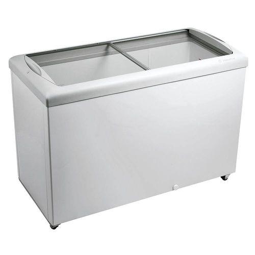 Freezer Horizontal Tampa de Vidro para Sorvetes e Congelados 336 Litros HF40S 220V - Metalfrio