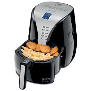 Fritadeira Air Fryer Digital Premium Mondial AF-04 com Timer e Display Digital – Preta - 110V