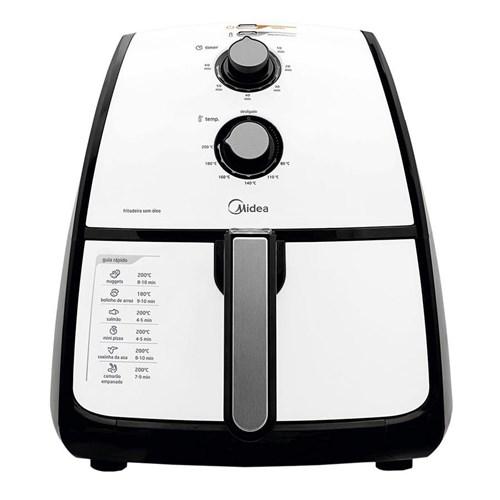 Fritadeira Elétrica Midea Liva 1500W 4 Litros Sem Óleo 220V