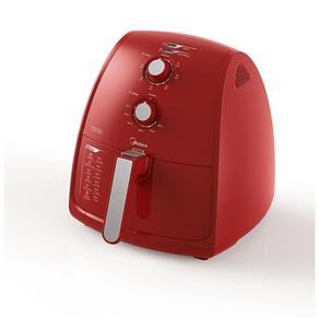 Fritadeira Sem Óleo Liva FRV42 4L Vermelho Midea 220v - 220V