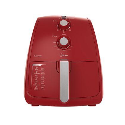 Fritadeira Sem Óleo Midea Liva 4L Vermelha 220v - FRV42