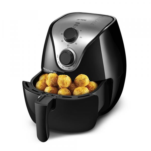 Fritadeira Sem Óleo Multilaser Air Fryer 4 Litros 1500W CE022