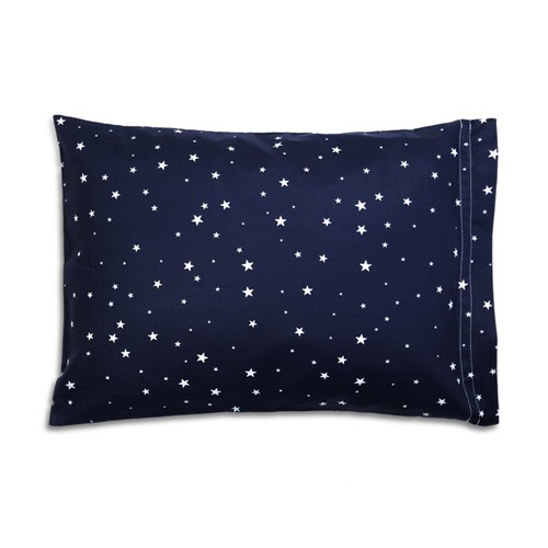 Fronha Estrela Azul Marinho (Solteiro)