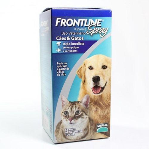Tudo sobre 'Frontline Spray - Frasco com 100ml'