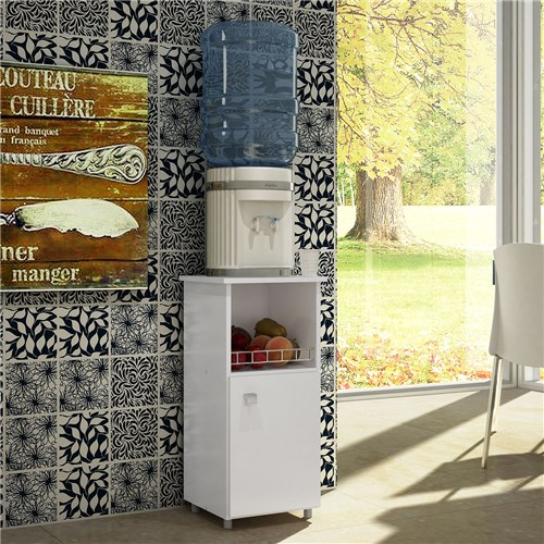 Fruteira com Porta Fr4093 Br Art In Móveis Branco