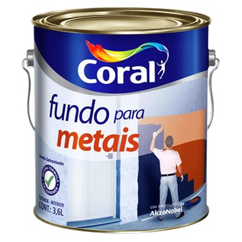 Fundo para Ferro Zarcoral 3,6L Coral