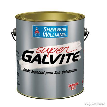 Fundo Preparador Super Galvite 3,6 Litros Branco Sherwin Williams