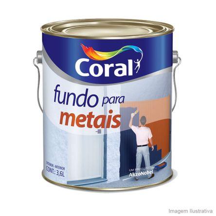 Fundo Protetor Antioxidante para Metais Zarcoral 3,6L Laranja Coral
