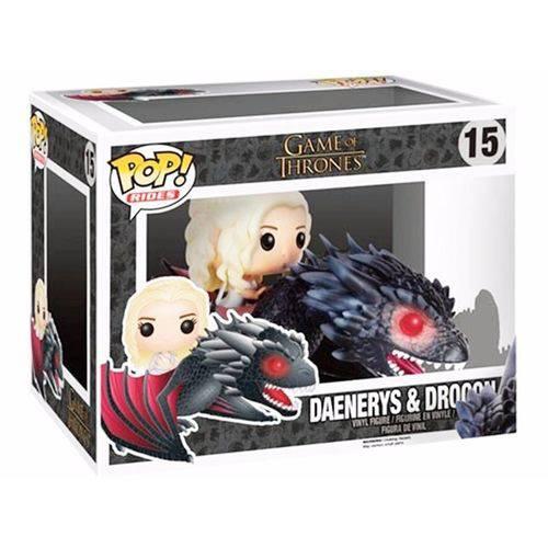 Tudo sobre 'Funko 15 - Game Of Thrones - Daenerys & Drogon'