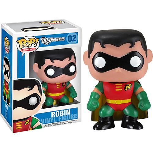Tudo sobre 'Funko Pop - Dc Super Heroes Figura Robin - Funko'