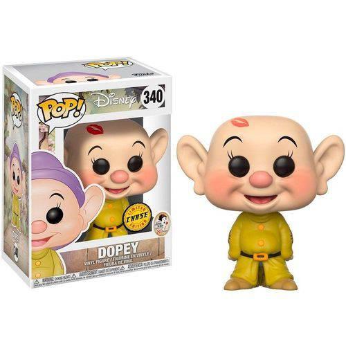 Tudo sobre 'Funko Pop Disney Snow White 340 Dopey Chase'