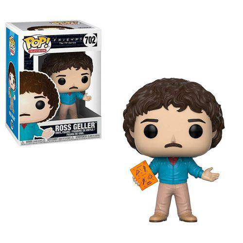 Tudo sobre 'Funko Pop Friends 702 Ross Geller'