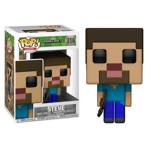 Tudo sobre 'Funko Pop Games: Minecraft - Steve #316'