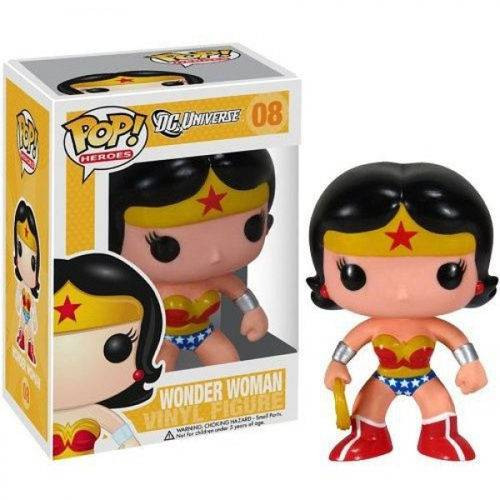 Tudo sobre 'Funko Pop Heroes: Dc - Wonder Woman'