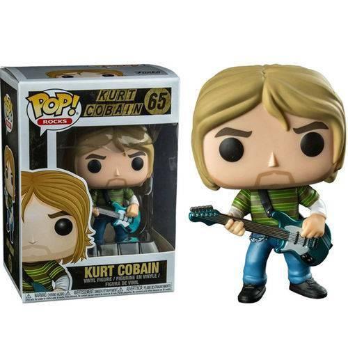 Tudo sobre 'Funko Pop Kurt Cobain - Nirvana Rocks'