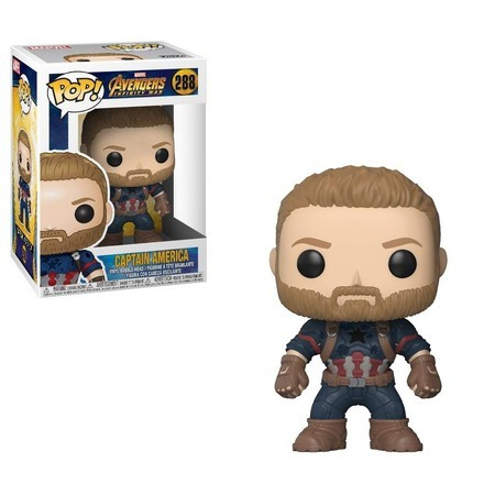 Funko Pop! Marvel - Captain America 288