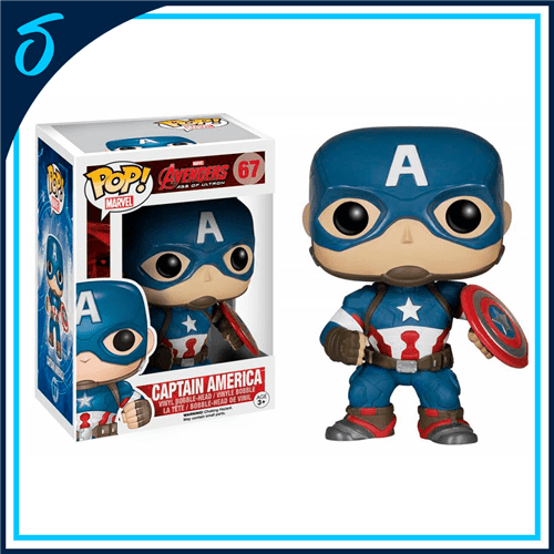 Funko Pop Marvel Captain America