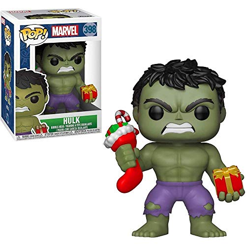 Tudo sobre 'Funko Pop Marvel Hulk Stocking'