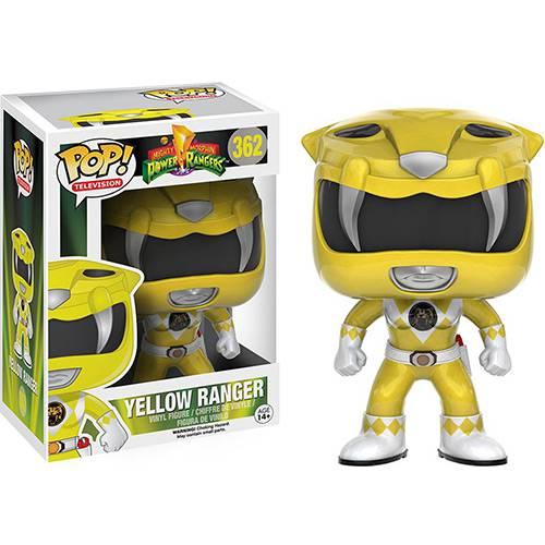 Tudo sobre 'Funko Pop - Power Ranger Figura Yellow Ranger - Funko'