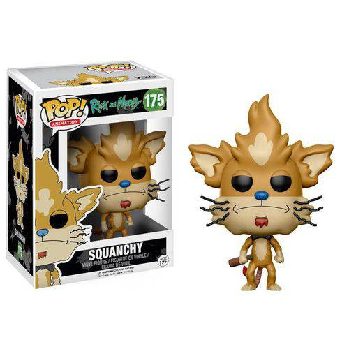 Funko Pop - Rick And Morty - Squanchy 175
