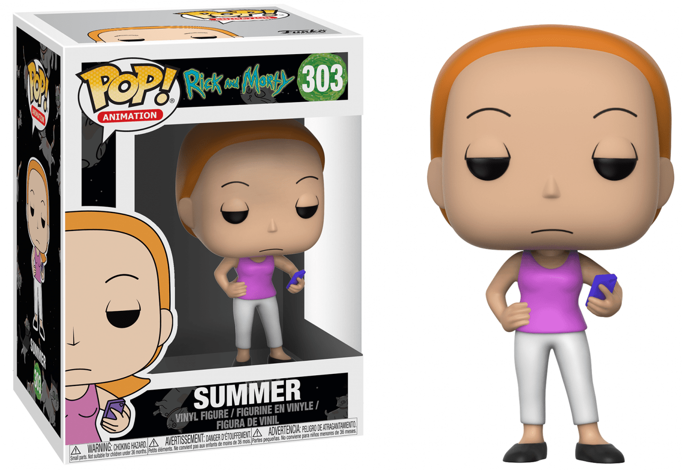 Funko Pop - Rick And Morty - Summer 303