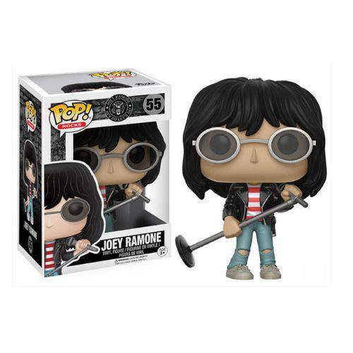 Tudo sobre 'Funko Pop Rock Joey Ramone - Ramones'