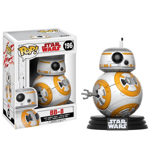Funko Pop! Star Wars: o Último Jedi - Bb8-8 #196