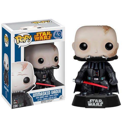 Funko Pop Star Wars Unmasked Darth Vader Número 43
