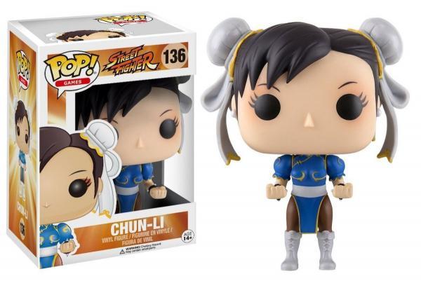 Funko Pop Street Fighter Chun-li 136