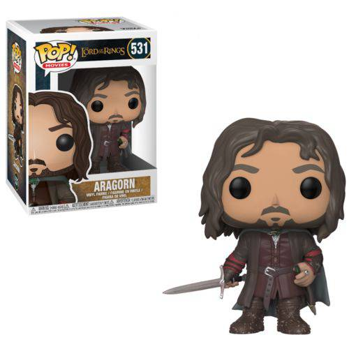 Tudo sobre 'Funko Pop - The Lord Of The Rings - Aragorn 531'