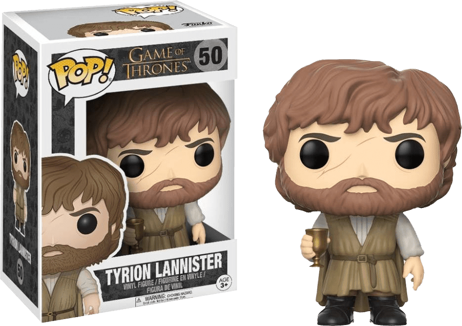 Funko Pop! - Tyrion Lannister 50 - Game Of Thrones