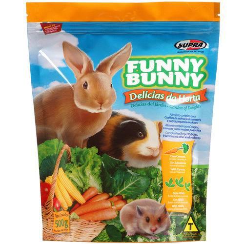 Tudo sobre 'Funny Bunny Ração Delícias da Horta - 500g'