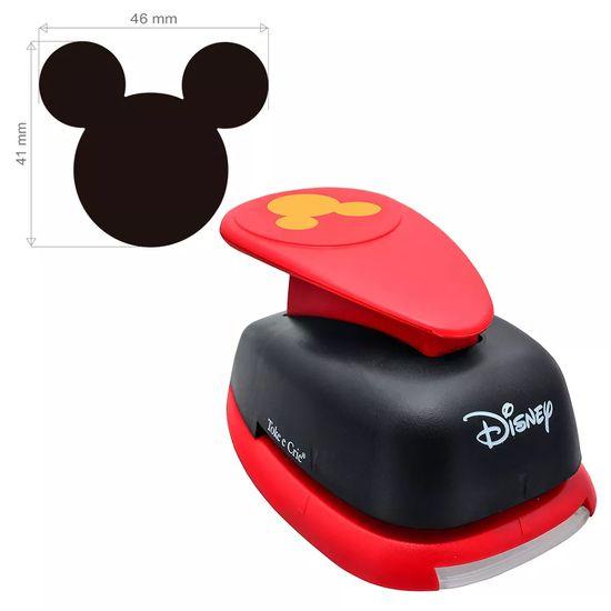 Furador de EVA e Papel Toke e Crie Extra Gigante Disney FEGAD01 Cabeça Mickey Mouse
