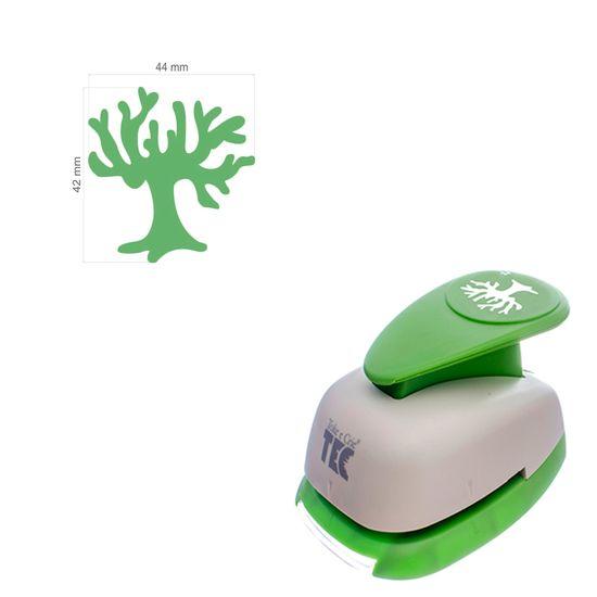 """Furador de Papel Toke e Crie Extra Gigante 2"""" FEGA018 Árvore Círculo"""
