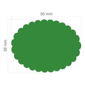 Furador Extra Gigante Escalope Oval Ref.9182-FEGA011 Toke e Crie