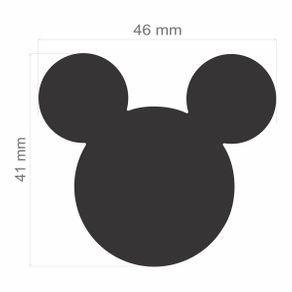 Furador Extra Gigante Premium (E.V.A) Cabeça do Mickey Mouse Ref.19531-FEGAD01 Toke e Crie