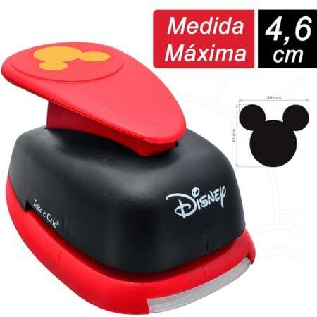 Furador Extra Gigante Premium Toke e Crie - Cabeça Mickey Mouse