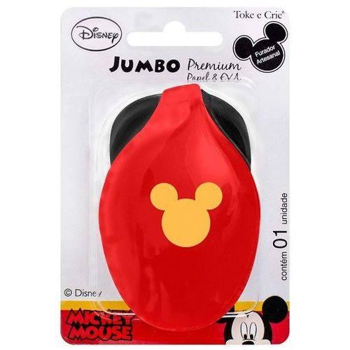 Tudo sobre 'Furador Jumbo Premium Disney Cabeça Mickey Mouse'