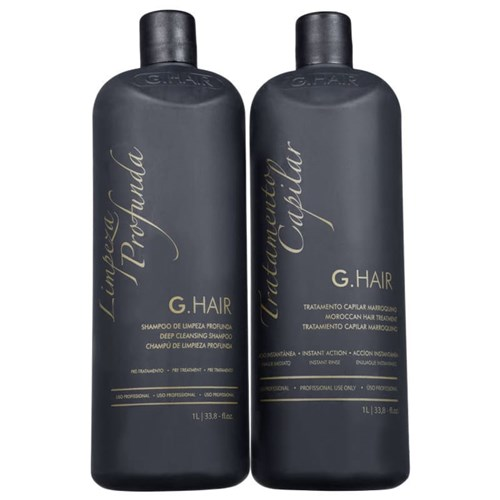 G.Hair Escova Progressiva Marroquina Kit 2x1000ml