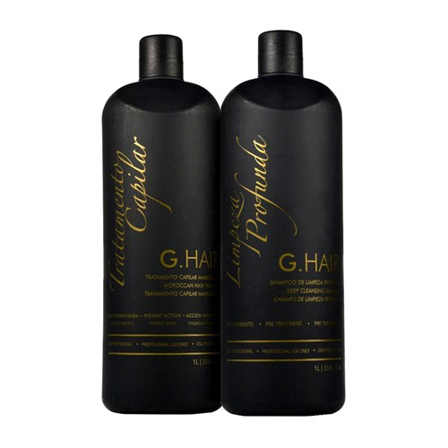G Hair Kit Escova Progressiva Marroquina 2x1000ml